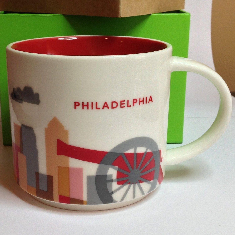 Starbucks Philadelphia You Are Here Collection Mug