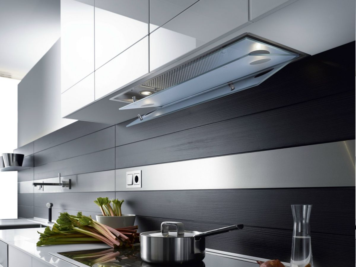 4 Stylish Hoods Modern Kitchens Dream About  Modern kitchen hood