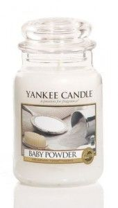 Vonna Svicka Yankee Candle Baby Powder Classic Velky Baby