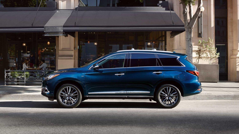 2019 Infiniti Qx60 Luxury Crossover Exterior Side Profile In Hermosa Blue Luxury Crossovers Infiniti Infiniti Usa