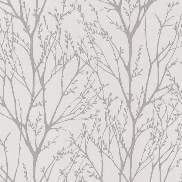 Brewster 56.4 sq. ft. Delamere Pewter Tree Branches