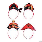 Chinese New Year Hat Headbands Oriental Trading In 2021 New Years Hat Chinese New Year Party Chinese New Year