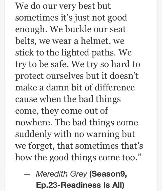 Grey\'s Anatomy quotes … | Sayings …