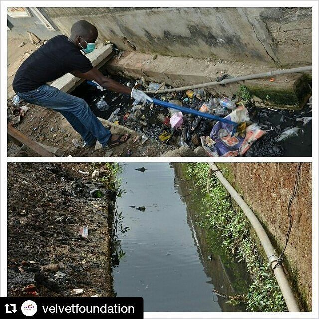 #Repost @velvetfoundation with @repostapp  Our project #HelpACommunity in the Bariga community last saturday was a success. A big thank you to our amazing volunteers sponsors & partners God bless you greatly!  #foundation #HelpACommunity #Habitablesociety #sustainability #Lagos #lawma #sanitation #healthyliving #CleanACommunity #nigerianyouths #youthempowerment Re-post by Hold With Hope