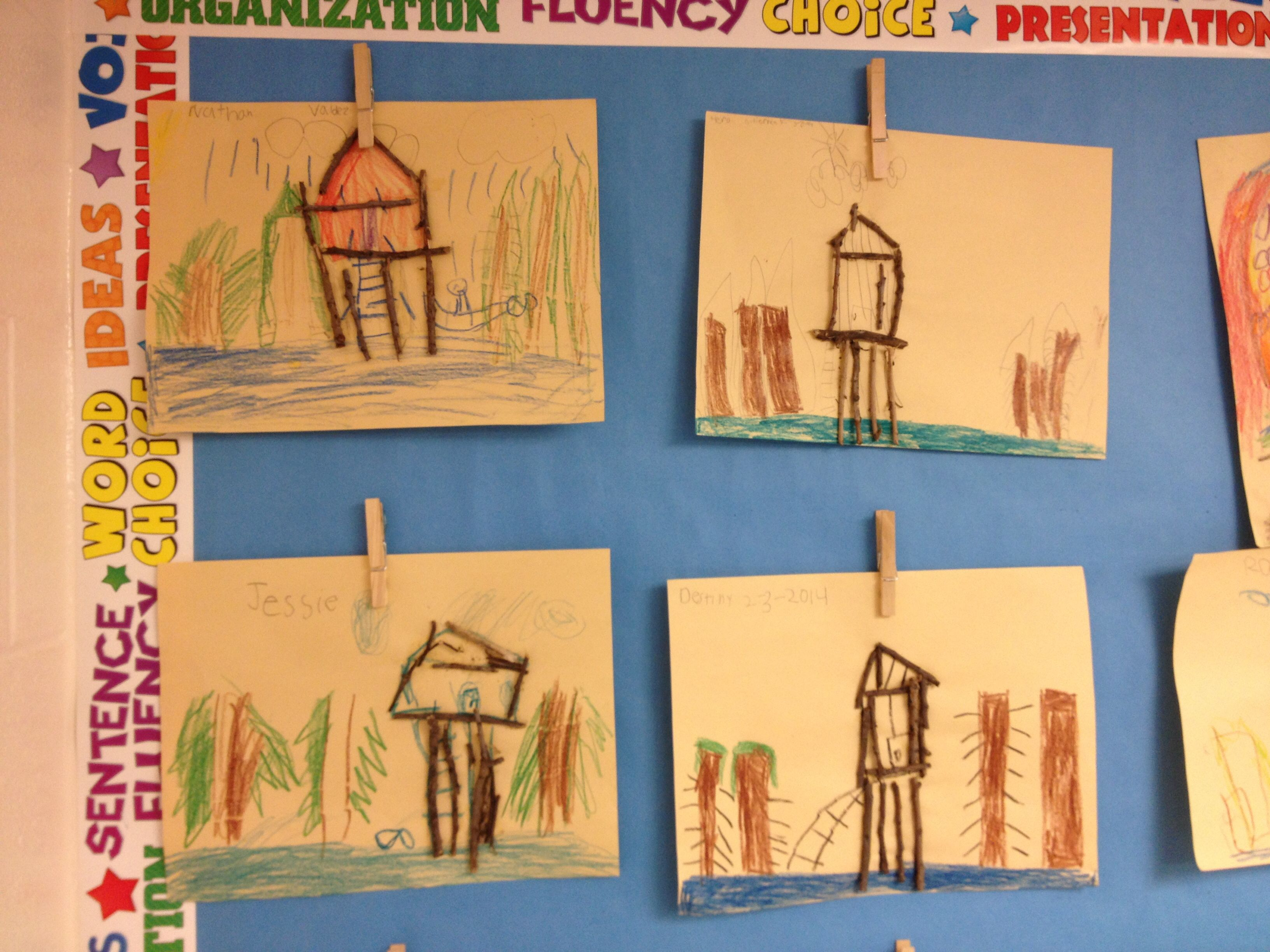 Kindergarten Social Stu S Houses Around The World