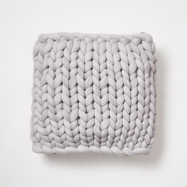 Chunky Knit Pillow Image