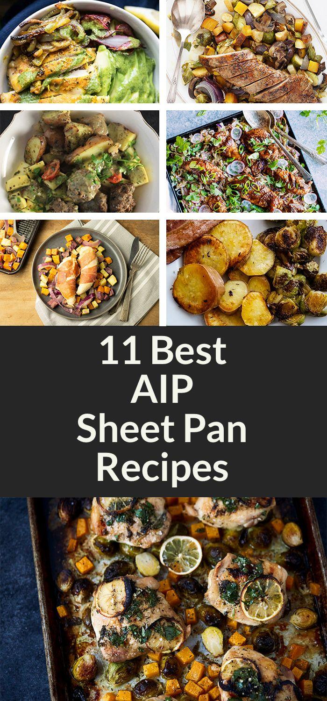 11 Nourishing AIP Sheet Pan Recipes [Paleo-Whole 30