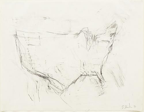 Brice Marden Map of the US by memory | Drawing (& Prints ...