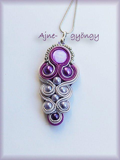 purple soutache