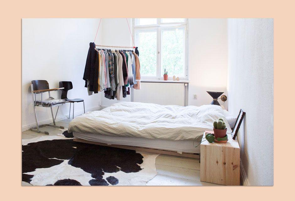Themed Bedroom Minimalist Scandinavian Bedroom With Wooden