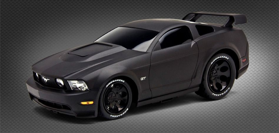customizable toy car ridemakerz ford mustang raven scream black rh pinterest com