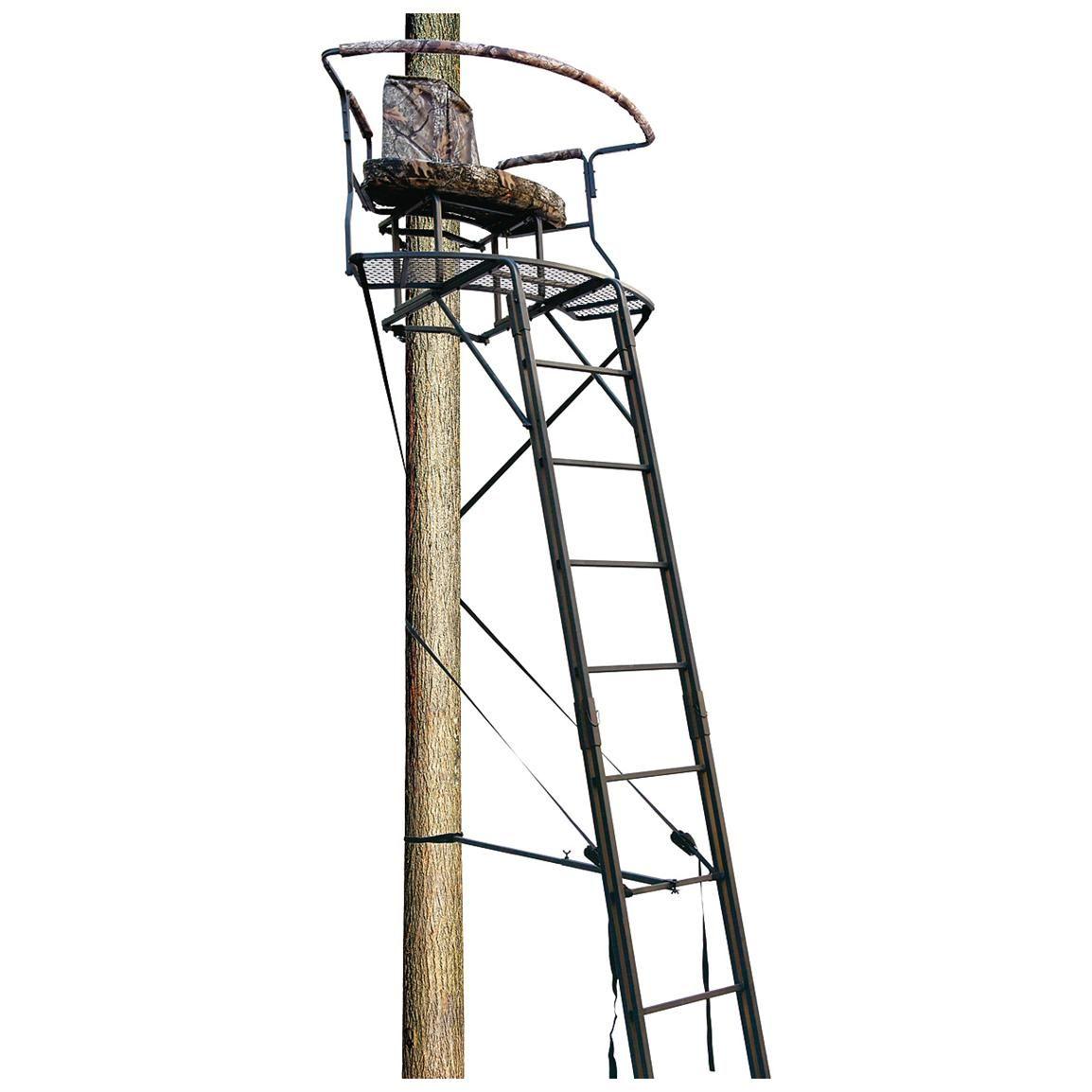 Big Dog Stadium Series Xl 17 5 2 Man Double Ladder Tree