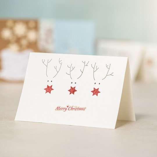 x mas karten mit elchen weihnachten weihnachtskarten. Black Bedroom Furniture Sets. Home Design Ideas