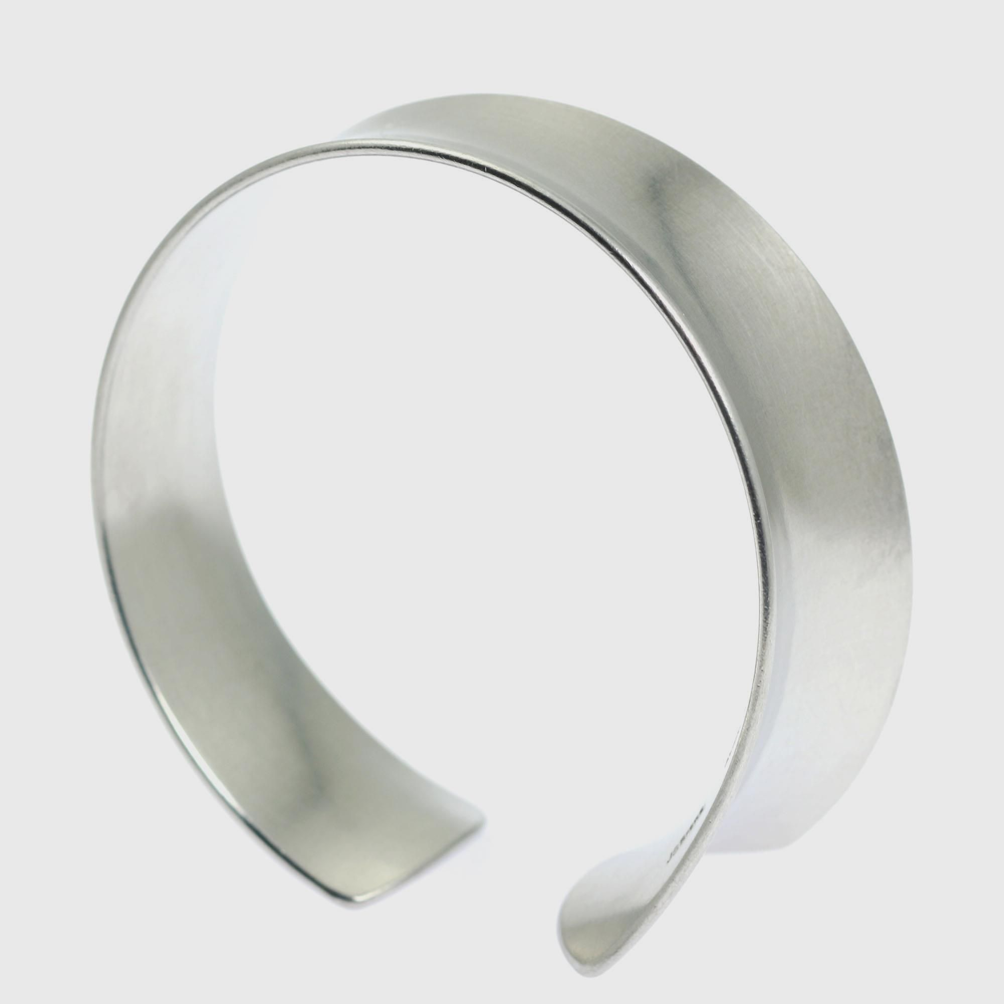 NEW! Superb Brushed Aluminum Anticlastic Bangle Bracelet  Highlighted by #AmazonHandmade #Bangles http://www.amazon.com/dp/B01AIWKOQO