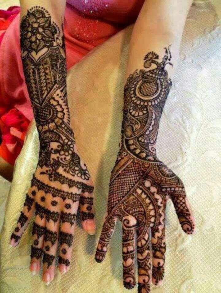 Mhindi; henna.