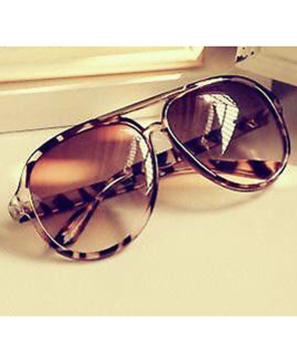 Lunettes de Soleil Lady Sunglasses , Léopard