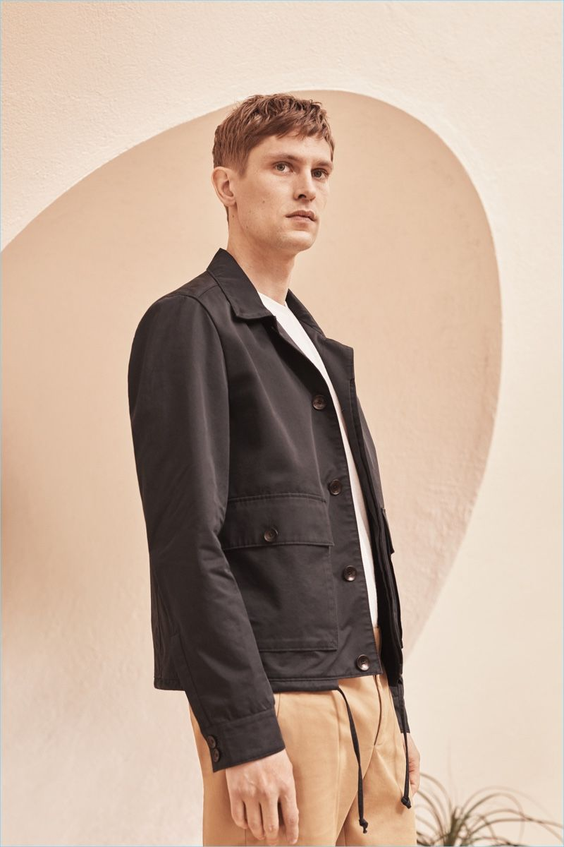 1c525e06821d5 Mathias Lauridsen fronts the campaign for Mango Man s Committed Collection.