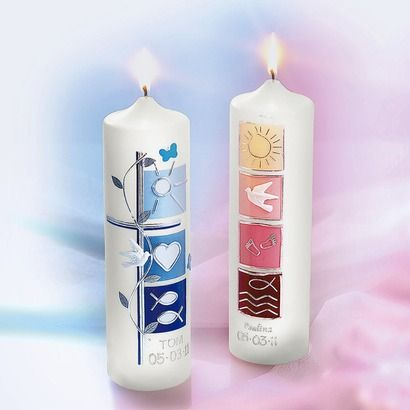 Taufkerze Mit Namen Online Kaufen Taufkerze Kerzen Basteln Und