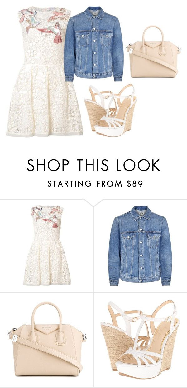 """""""bnkj4"""" by v-askerova on Polyvore featuring мода, RED Valentino, Acne Studios, Givenchy и Jessica Simpson"""