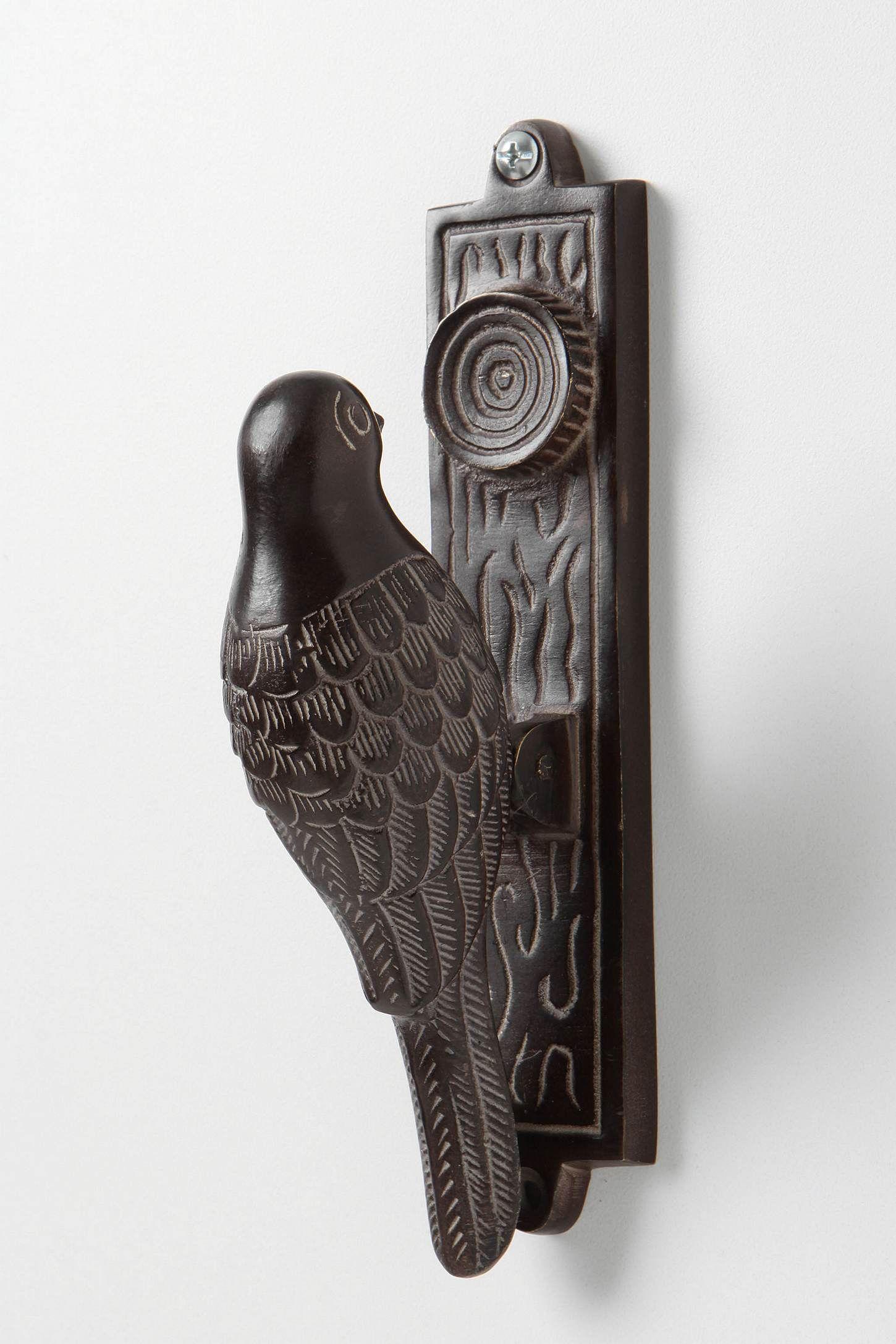 Woodpecker door knocker, $40.00