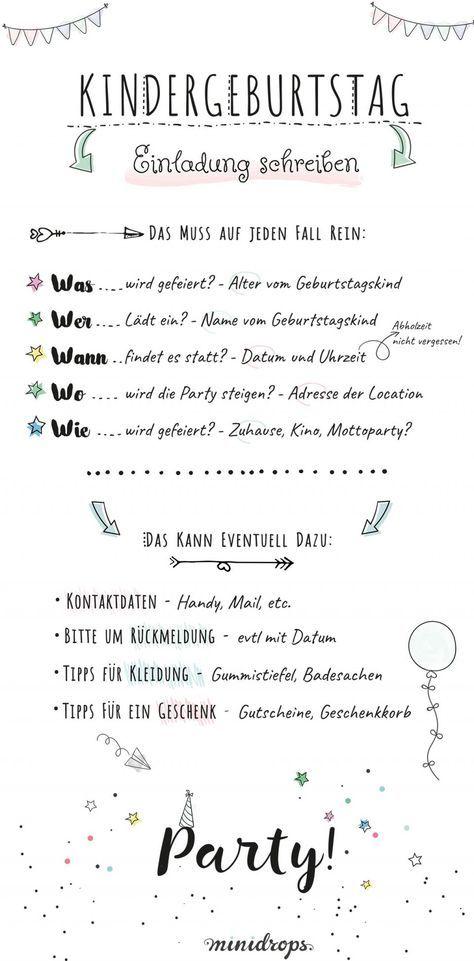 Schön Text Ideen Für Die Einladung Zum Kindergeburtstag | Pinterest | Einladung  Zum Kindergeburtstag, Einladungskarten Und Einladungen
