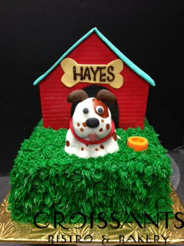 In The Dog House Cake Dog Cakes House Cake Cakes For Boys