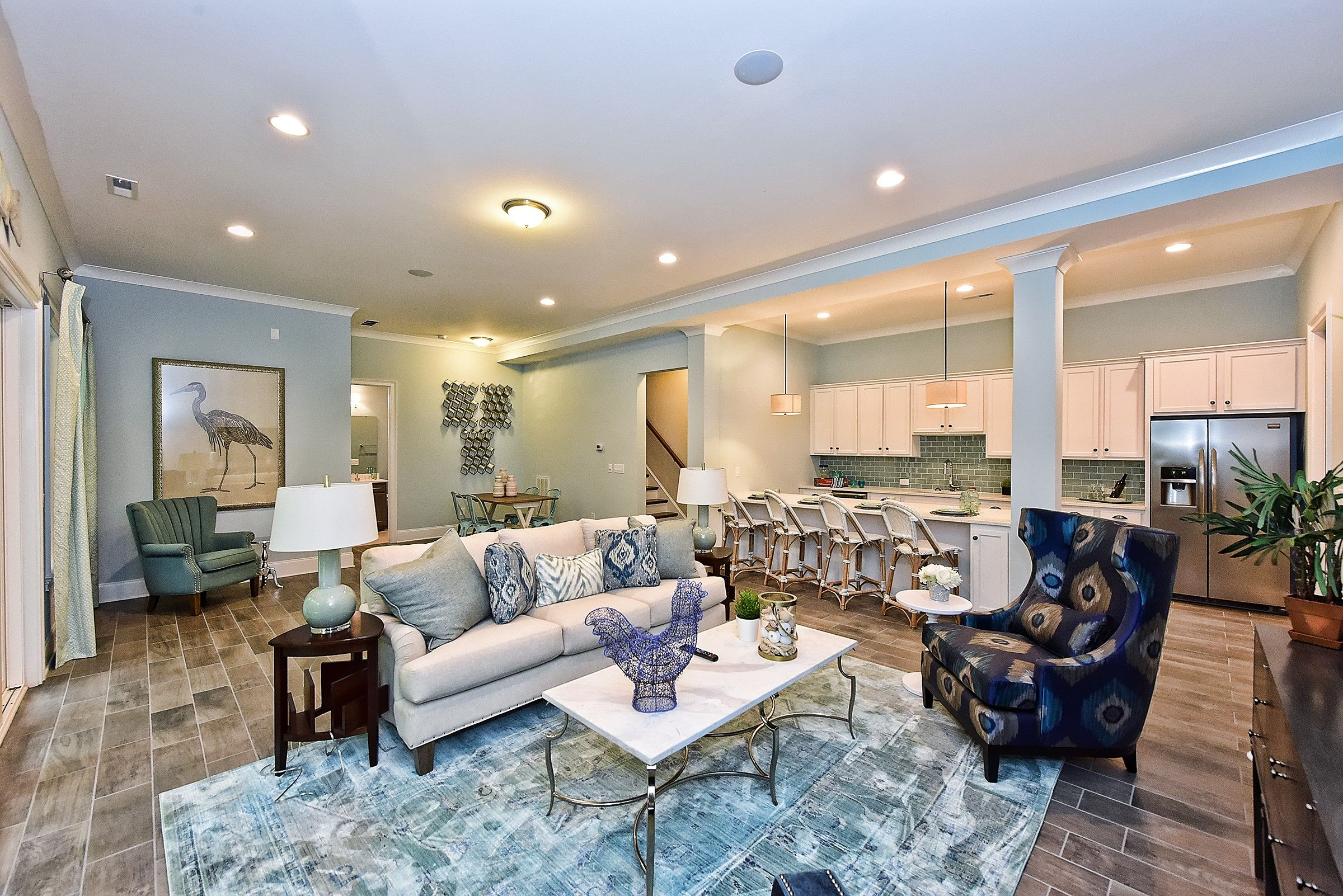 beautiful living is in store for you livingroom blue woodfloors rh pinterest com