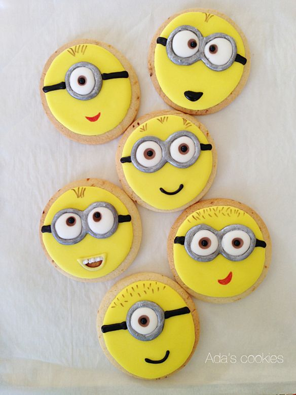Despicable Me My Attempts Minion Cookies Cookies
