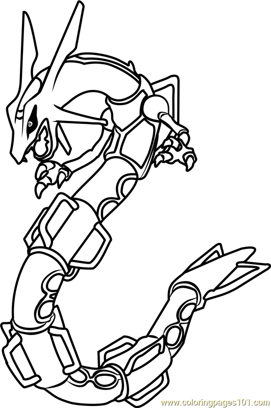 rayquaza coloring pages coloring pages