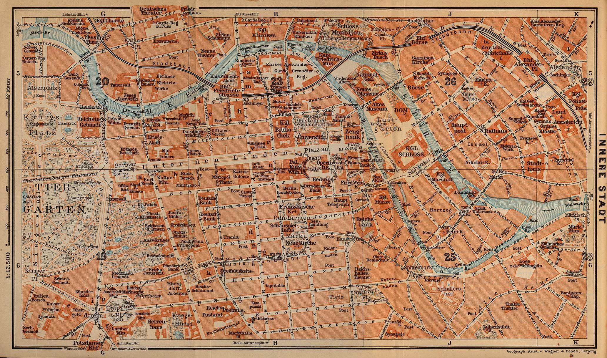 Preussisches Berlin Map Berlin Germany Map
