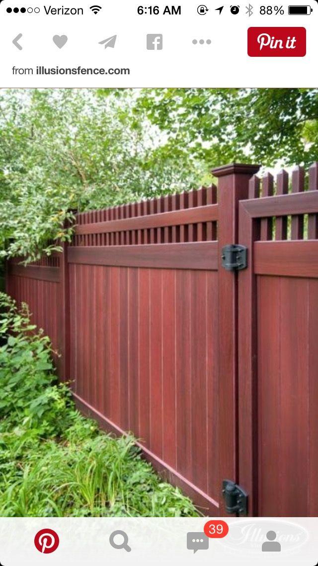 House Wood FencesFencingDrive GatesIdea Pin