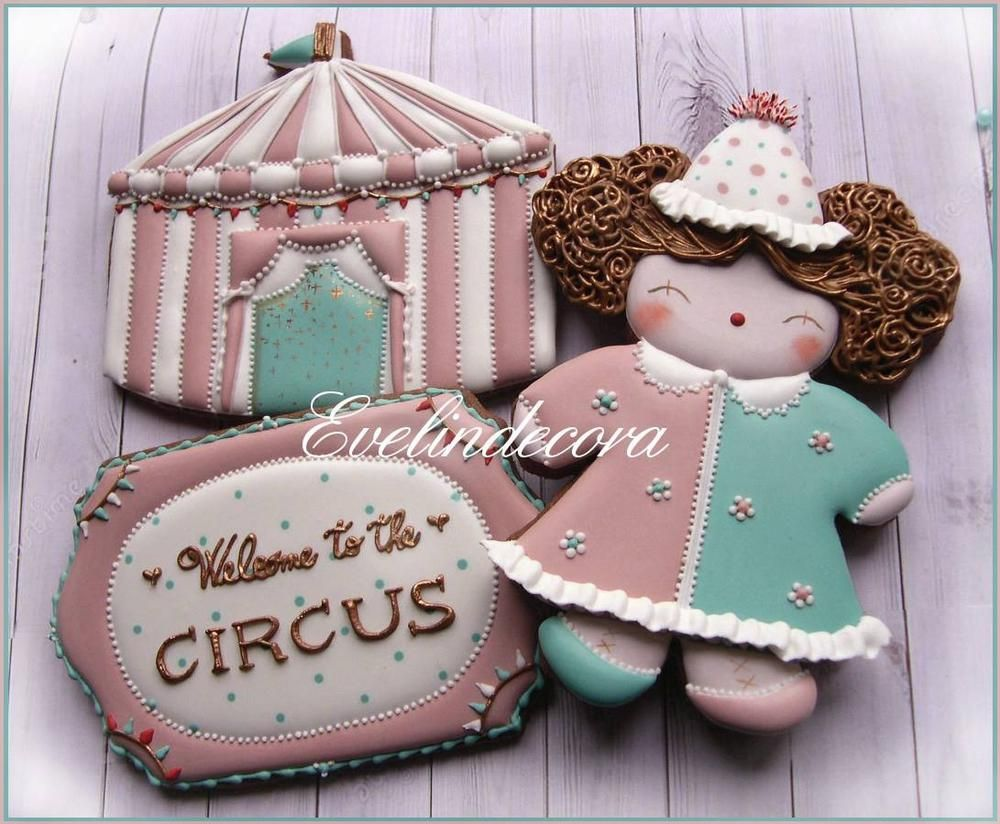 Circus cookies | Cookie Connection