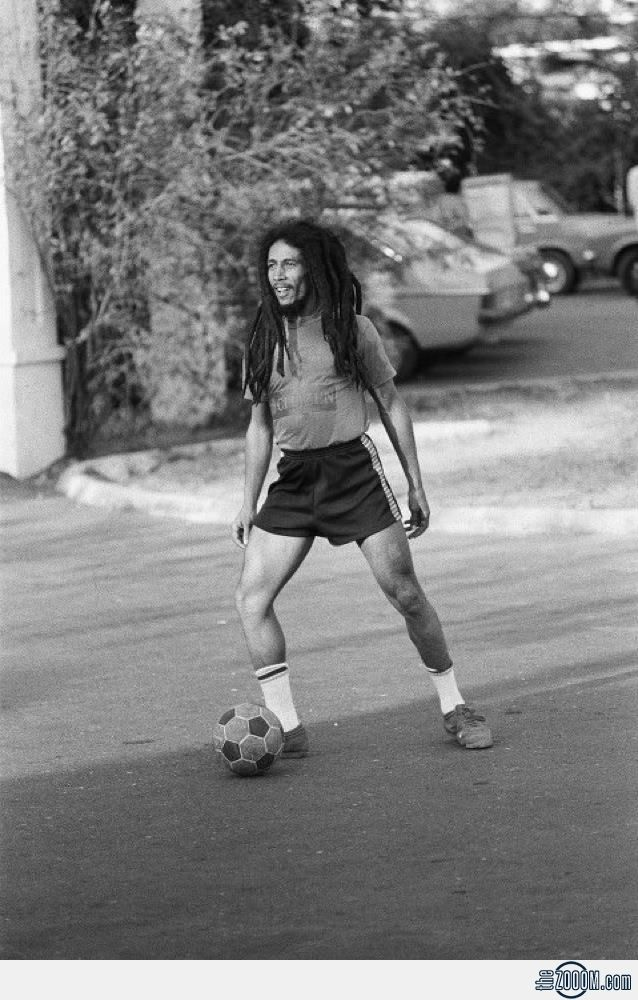 Did you know Bob Marley was buried with his soccer ball, among many other things?