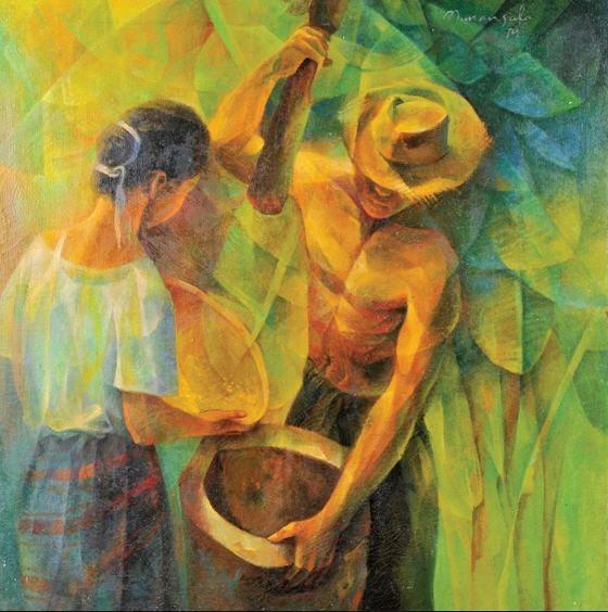 Vicente Manansala Sculptures At Duckduckgo Contemporary Art Canvas Filipino Art Philippine Art