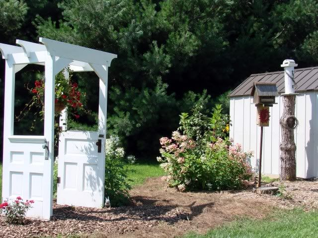 11 Gorgeous Garden Arbors Made From Old Doors – Off Grid World