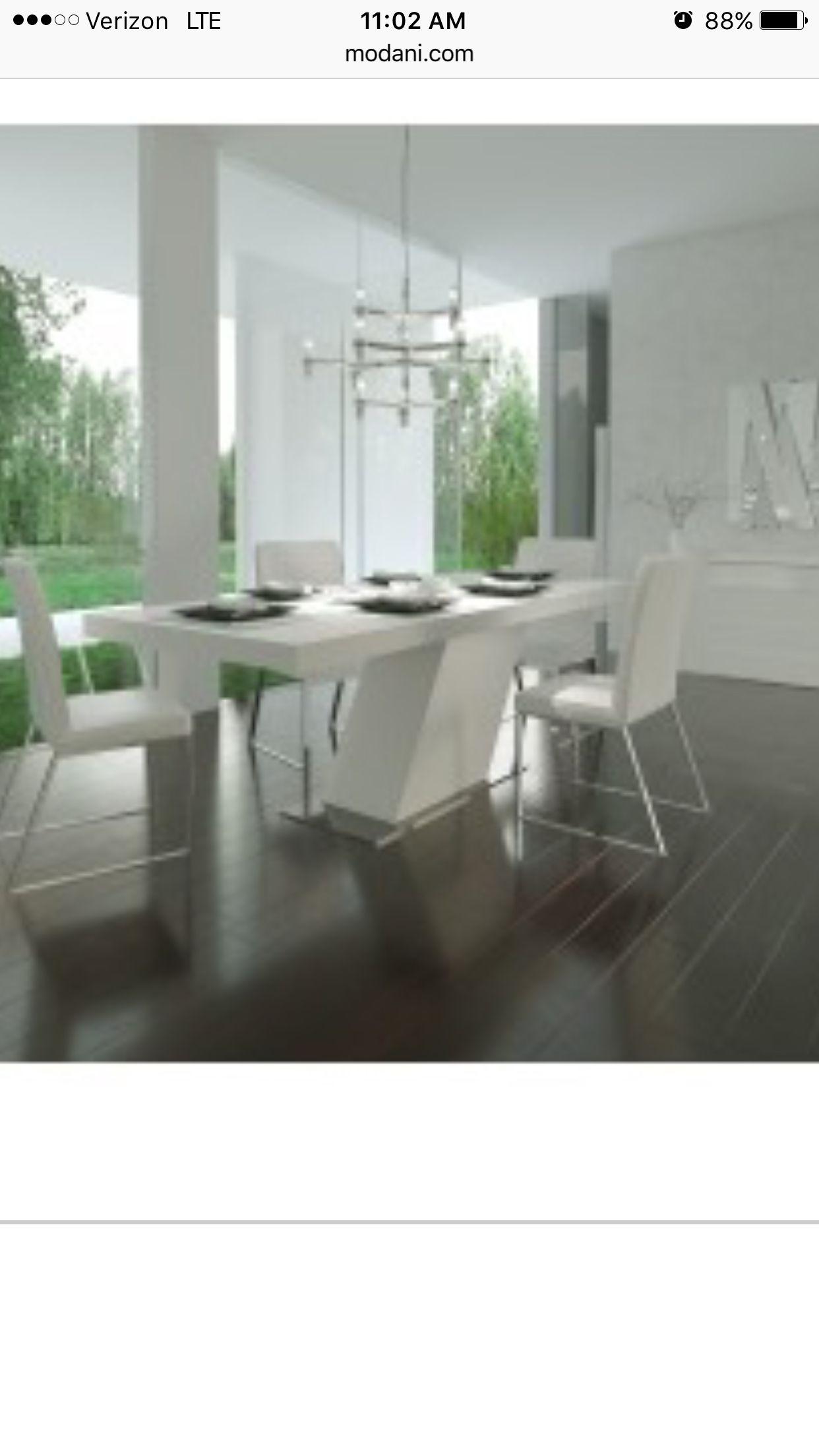 Http Www Modani Com Furniture Stores Modern Dining Modern Dining Tables Lazio Mid Century Modern Dining Ta Modern Furniture Stores Furniture Modani Furniture [ 2208 x 1242 Pixel ]
