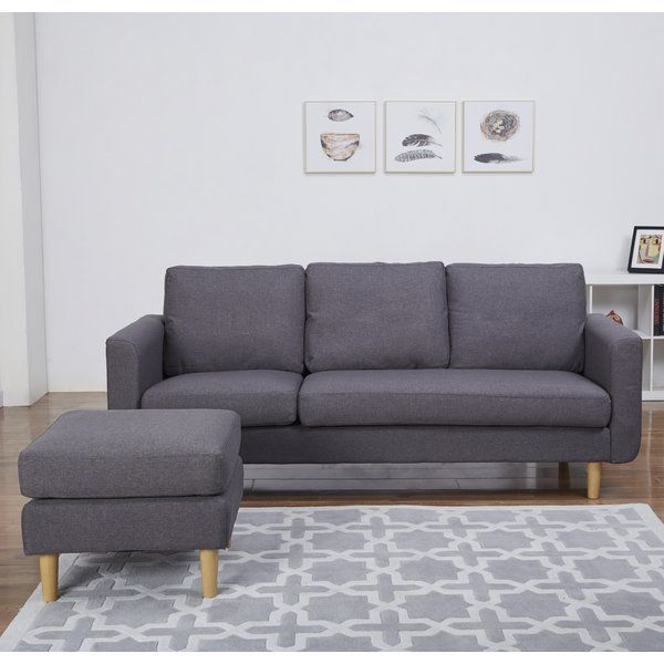 A Contemporary And Minimalist Chaise Sofa That S Ideal For Smaller