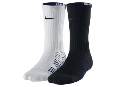 Nike Dri-FIT Performance Crew Football Socks (Medium/2 Pair) - $25.00