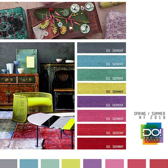 Designoptions ss19 color report on weconnectfashion - 2019 home color trends ...