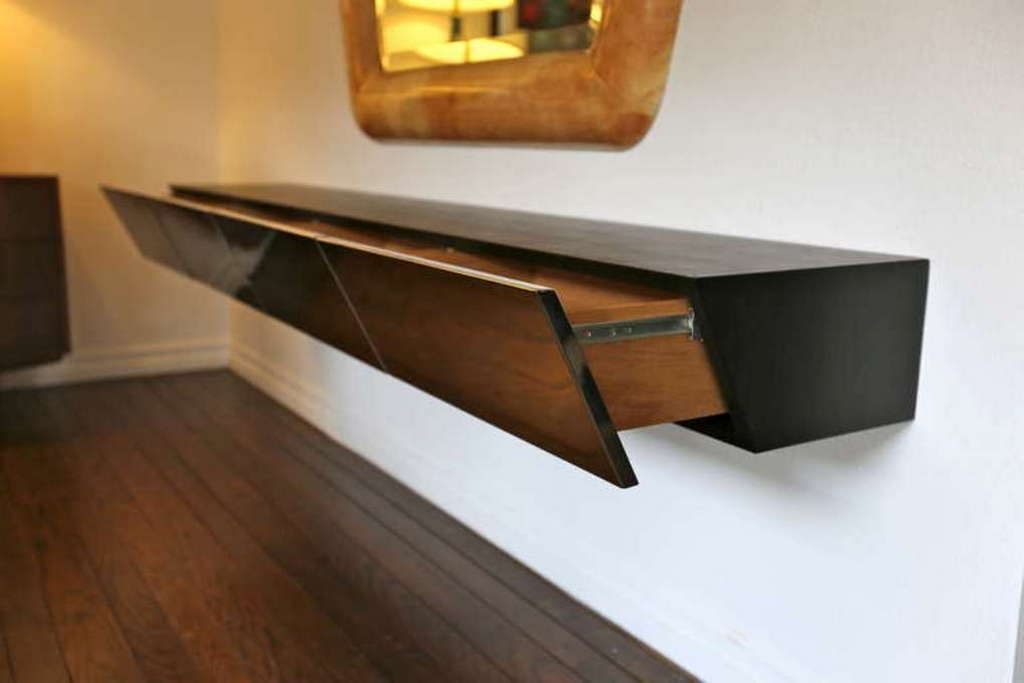 Cute ikea media console for house indoor furniture for Floating console table ikea