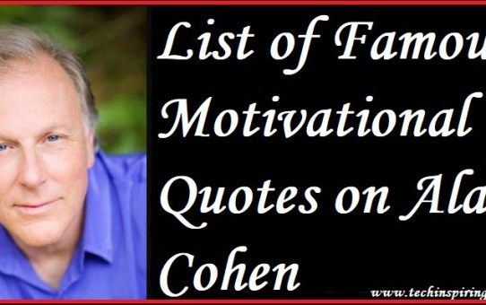 Famous Motivational Quotes Beauteous List Of Famous Motivational Quotes On Alan Cohen #acting #anger . Review