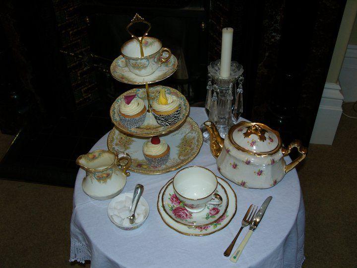 Afternoon tea setting