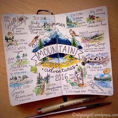 13 Creative Bullet Journal Ideen für das Reisen  - Style it. -