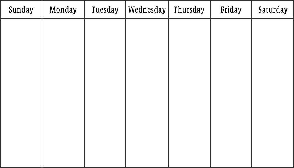 template doctor schedule template