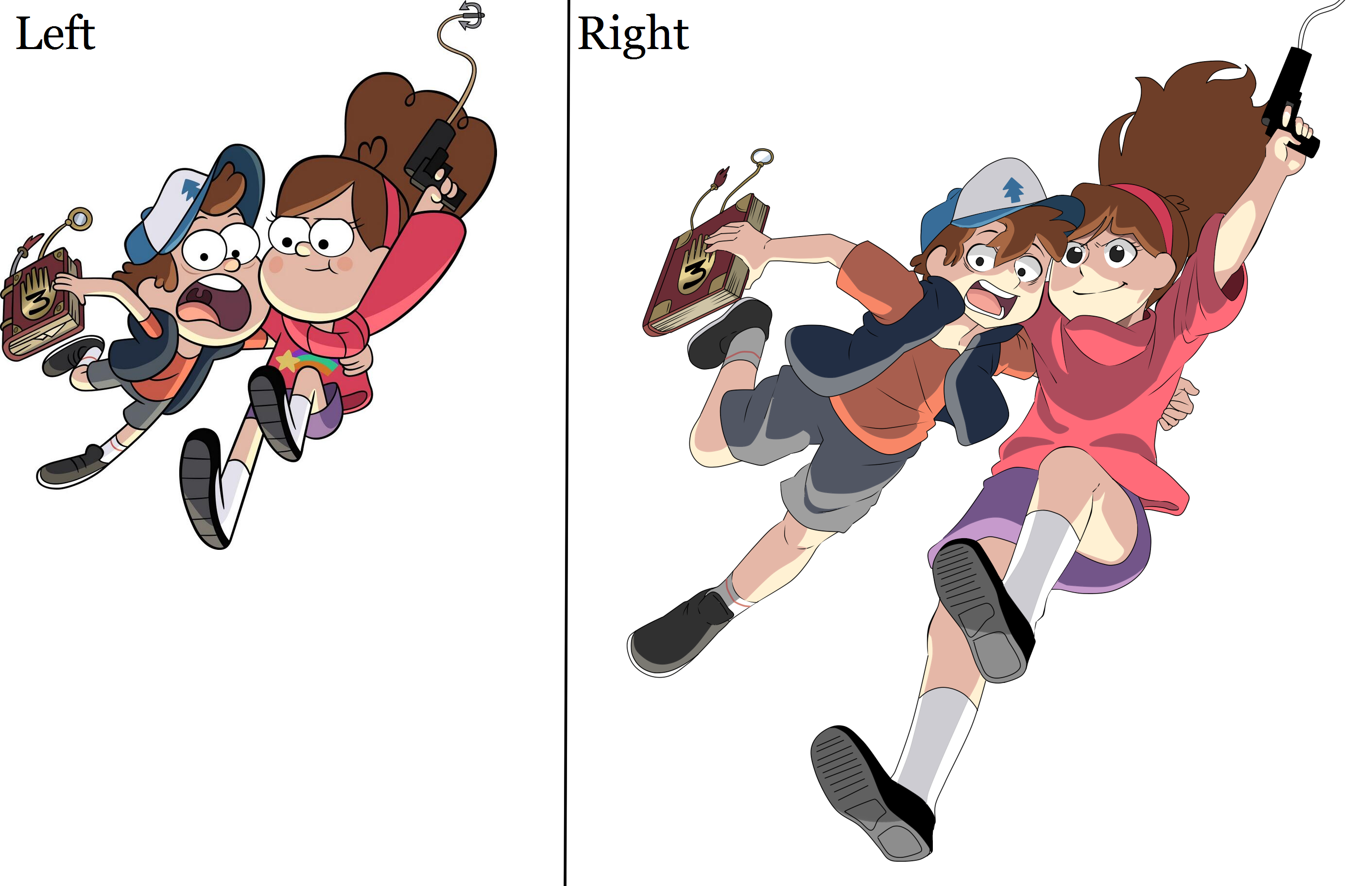 I knew this would come in handy someday! Gravity falls