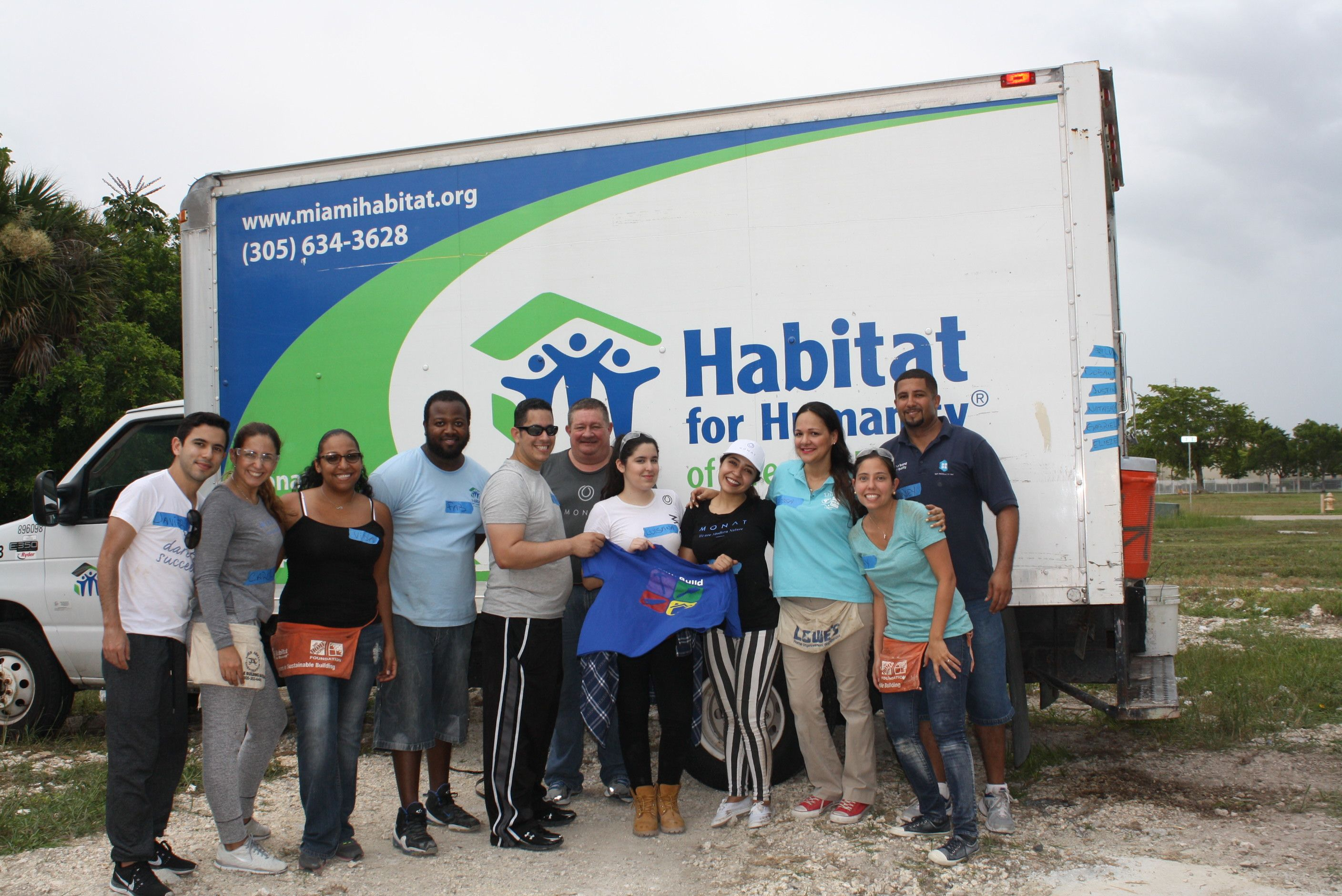 We Were So Happy To Volunteer Alongside Our Habitat For