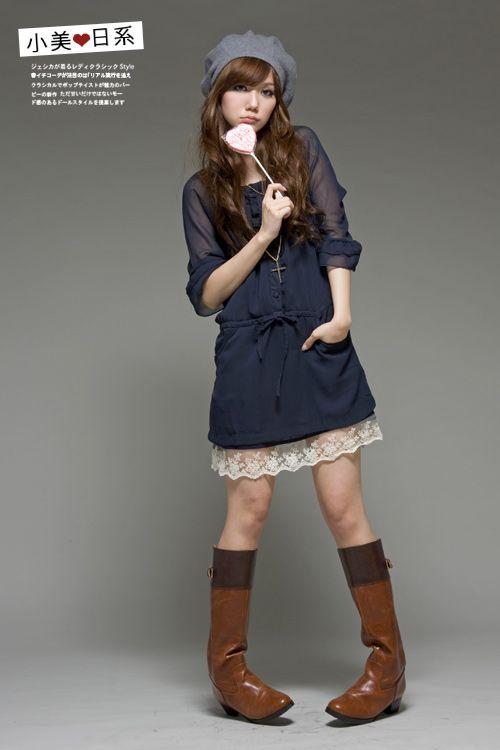 Cute Korean party dress | Cute Korean Dresses | Pinterest | Korean ...