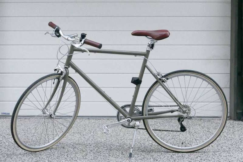 Tokyo Bike Cs Sand Brown Size Medium 53cm Like New Northcote