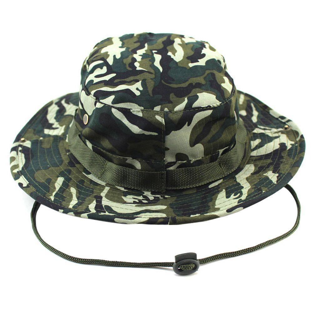 Jemis Men s Boonie Hat Bucket Hat (safari camo) at Amazon Men s Clothing  store  061896ff7be