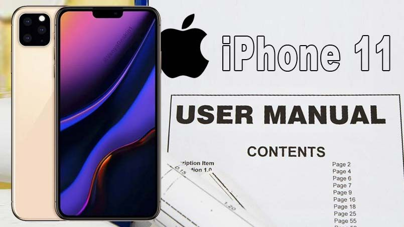 Iphone 11 User Manual And Instructions Guide For Beginners